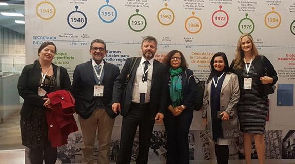 Delegação brasileira apresenta relatório nacional sobre Agenda 2030 em Santiago